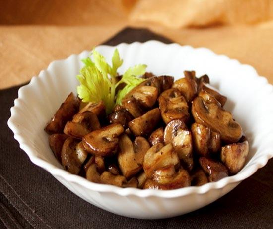 Блюда из печени с грибамиы