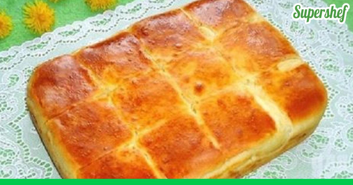 Пирог с сырой курицей рецепт