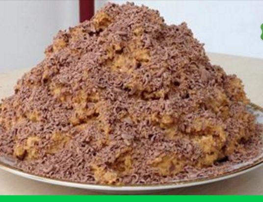 Торт муравейник пошаговое фото