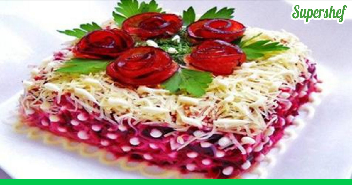 Рецепты салатов - лучшие и супер вкусные пошаговые рецепты ...