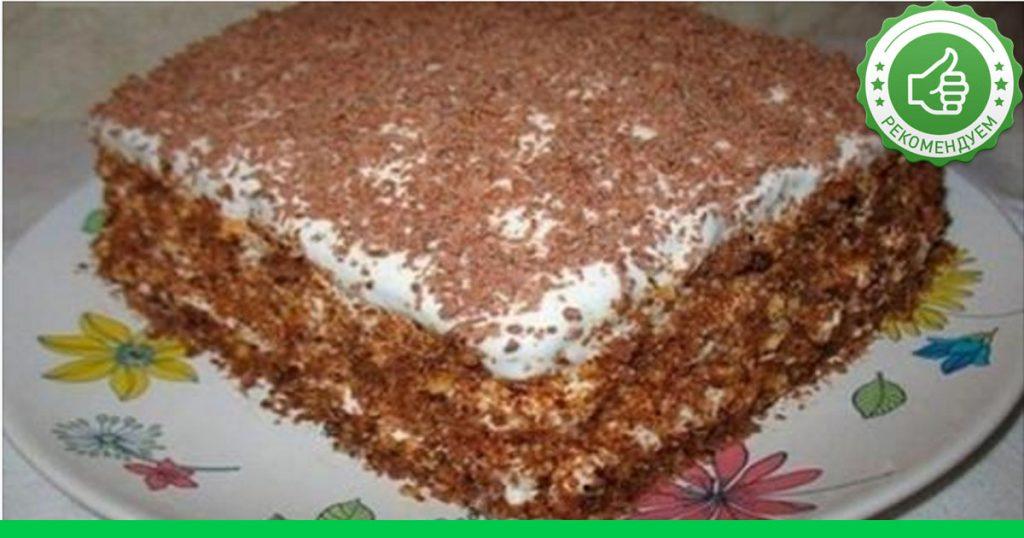 Торт на быструю руку рецепты с фото в дом условиях