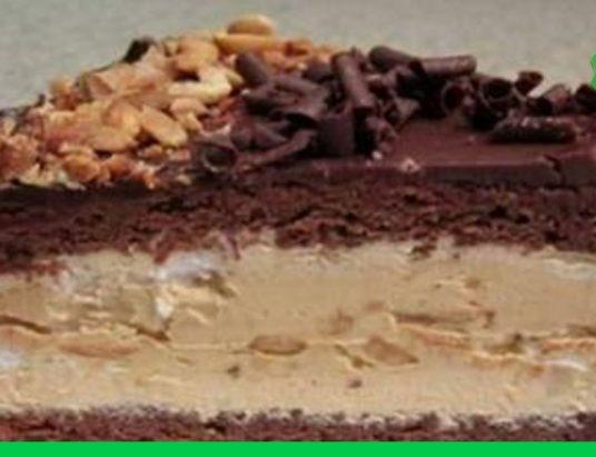 Сникерс торт с рецептом и фото