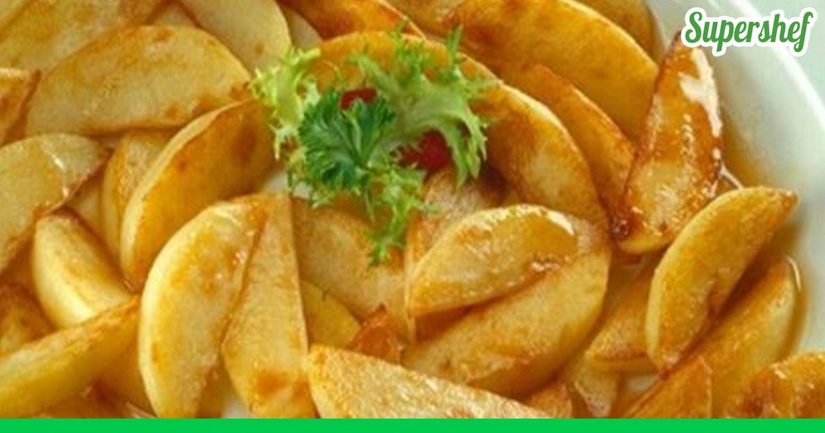 Праздничное блюдо из картошки