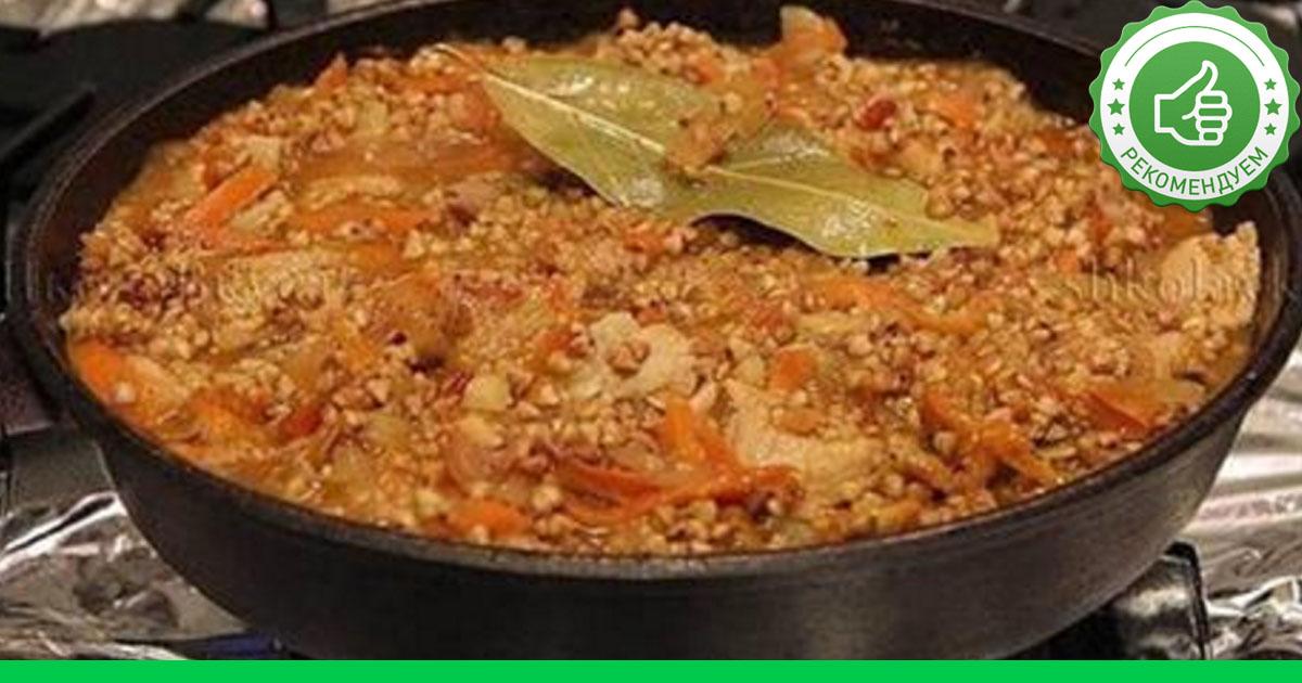 Как приготовить гречку по купечески с фаршем пошаговый рецепт