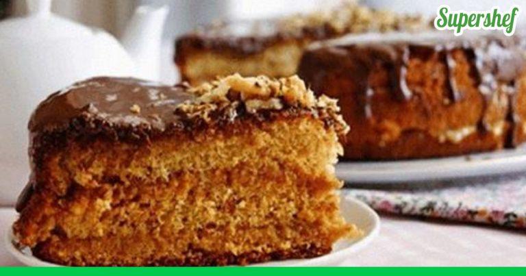 Торт с медом простой рецепт с фото