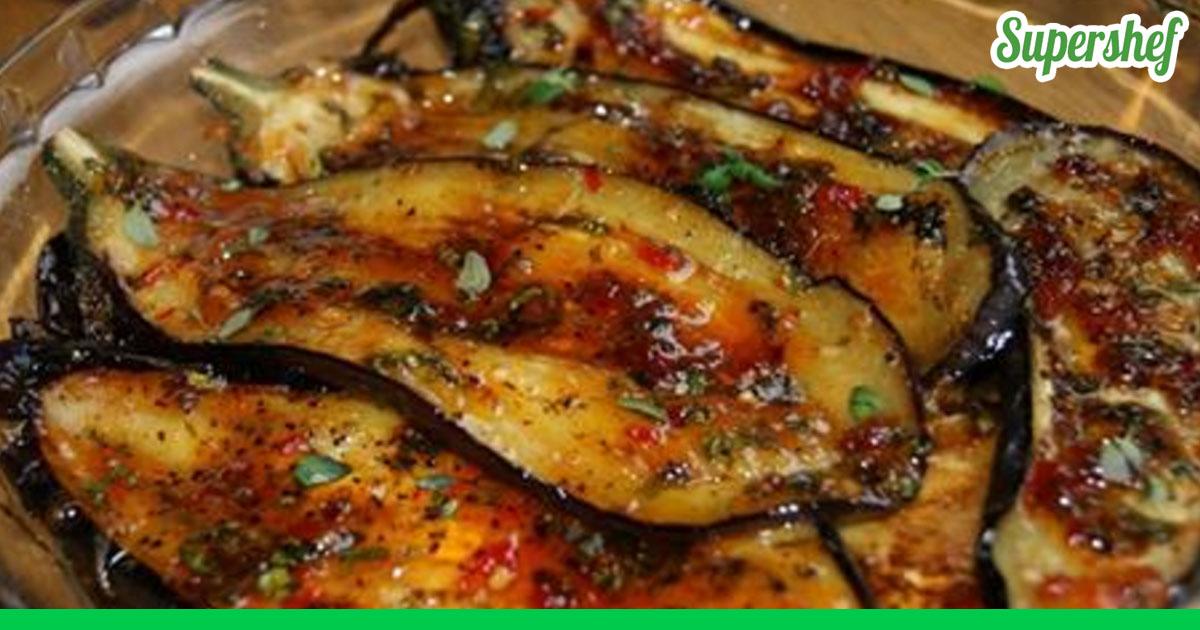Вкусный рецепт баклажанов с мясом