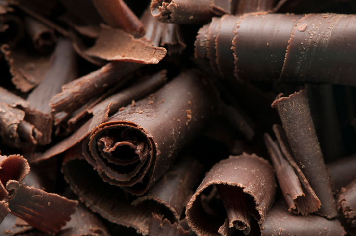 Chocolate Shavings Background