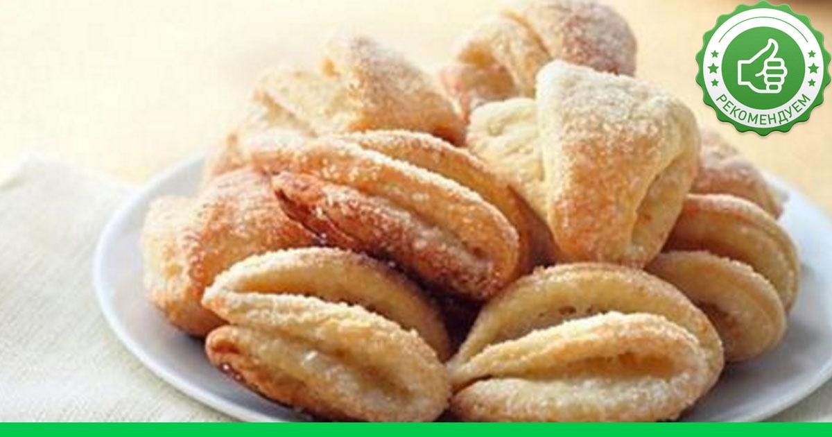 Печенье из творога с сахаром рецепт с фото пошагово