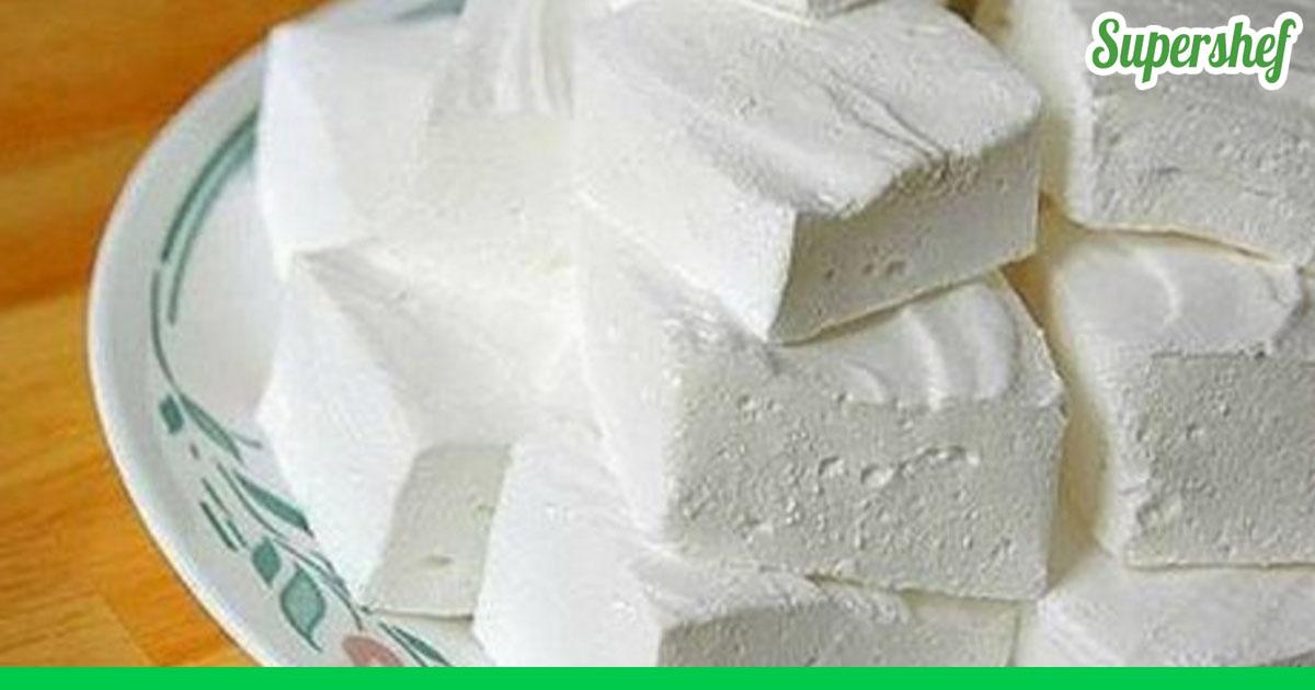 Зефир из желатина в домашних условиях