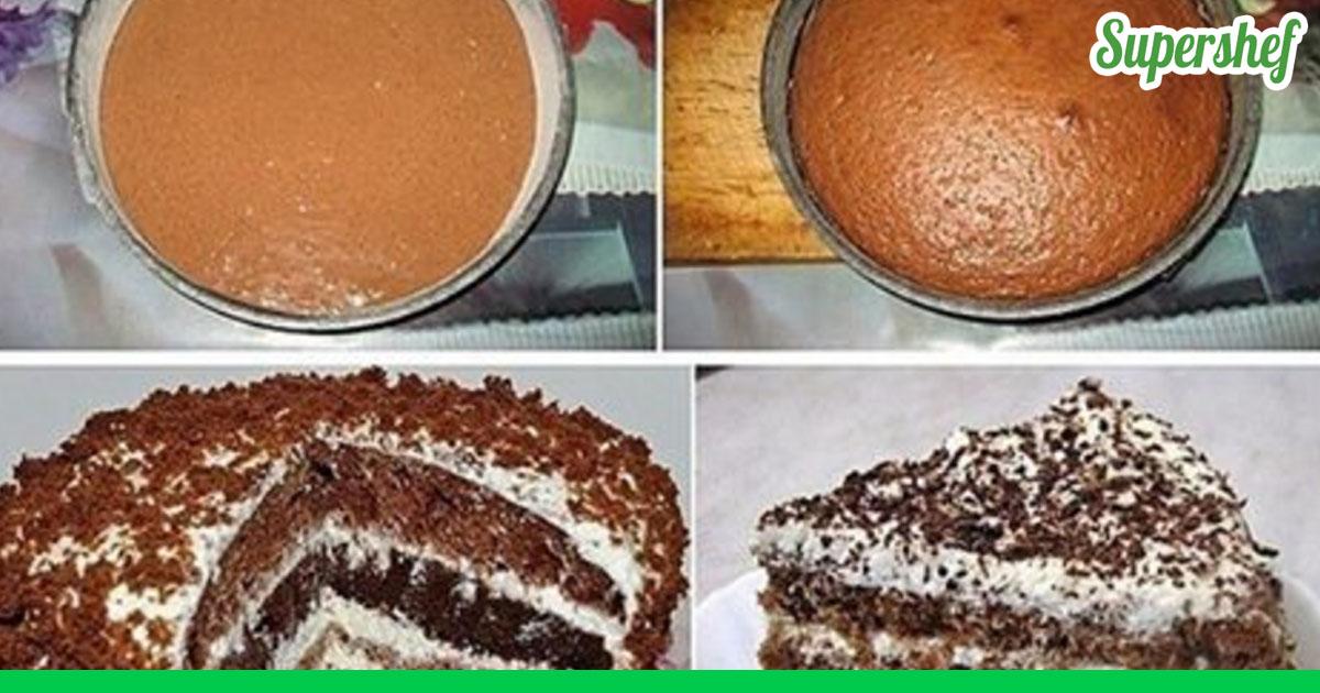 Тортик на быстрый и вкусный рецепт 104
