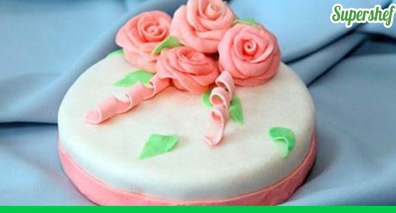 Украшения для тортов в домашних условиях фото мастика