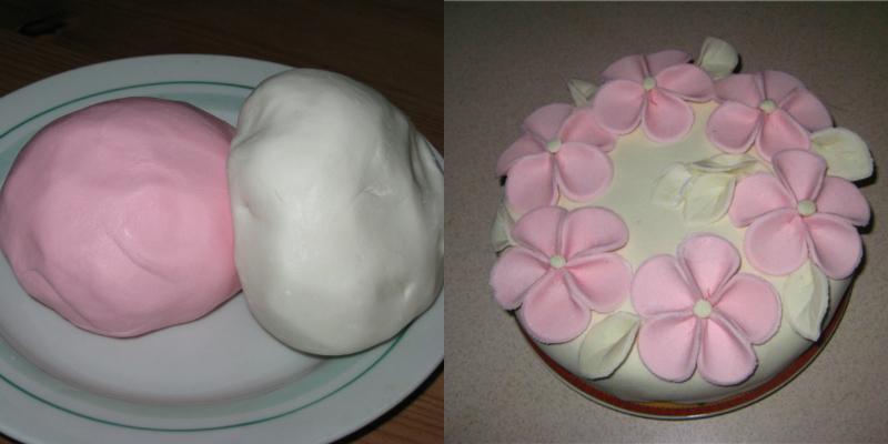 Мастика на торт в домашних условиях из маршмеллоу
