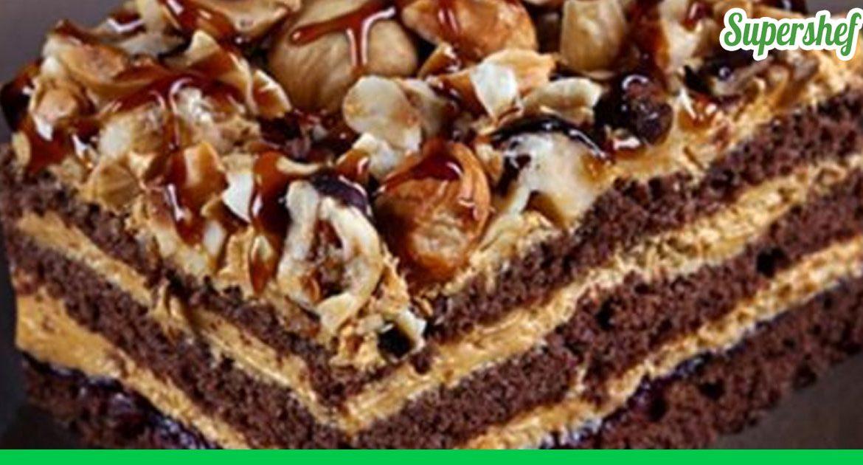 Шоколадный торт арабские сказки с и пошагово