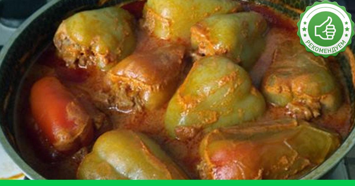 Как вкусно приготовить фаршированные мясом перцы