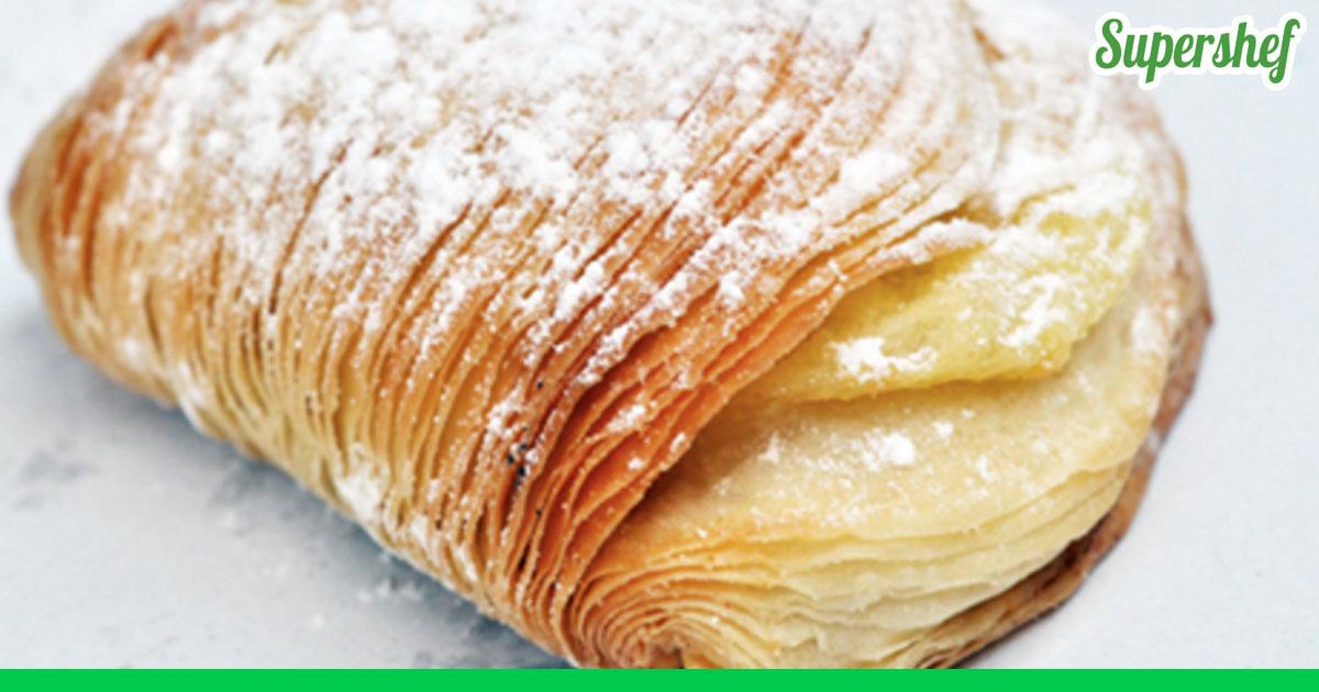 Неаполитанская кудрявая слойка рецепт с фото