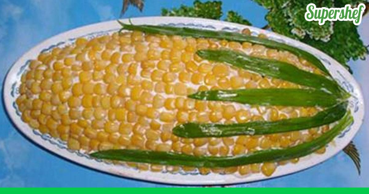 салат с кукурузы рецепт с фото очень вкусный с