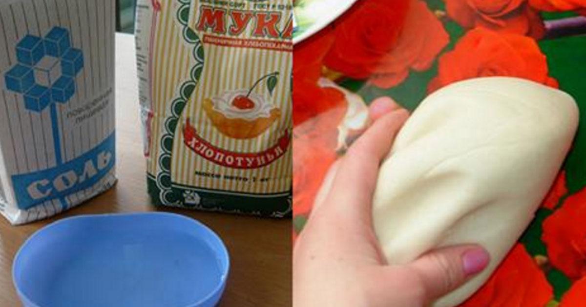 Как делать тесто с солью для поделок 45