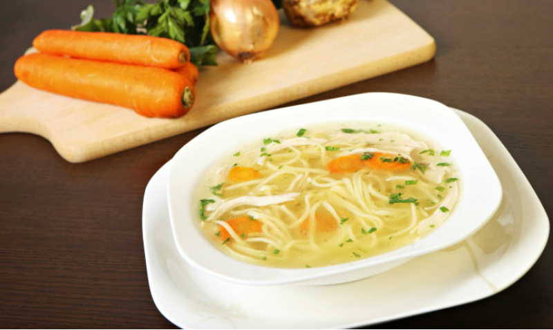 Рецепт супа из куриной спинки