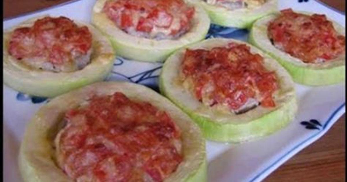 Блюда из кабачков в духовке рецепты быстро и вкусно с фото 0