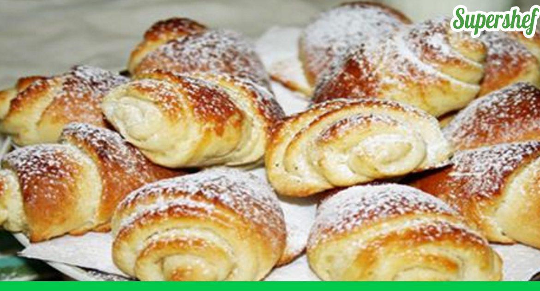 Сладкие сдобные булочки рецепт с пошагово