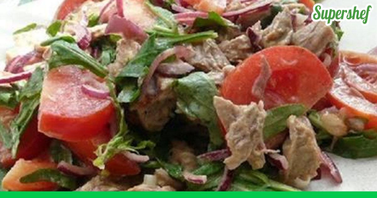 Самые вкусные салаты с говядиной рецепты с