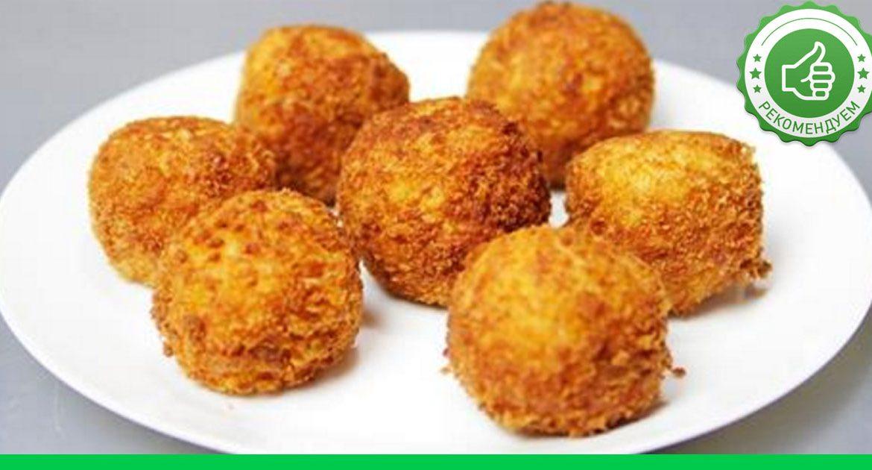 Рецепт картофельных шариков из пюре с сыром с фото