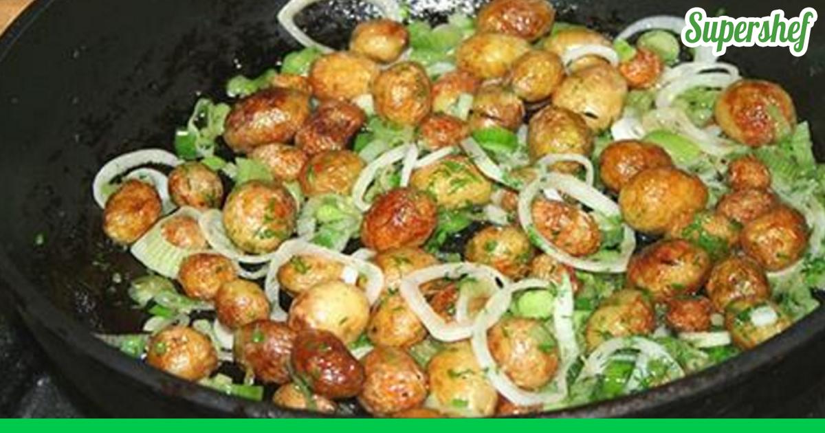 Как приготовить жареный картофель