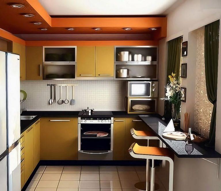 Маленькая кухня идеи дизайна