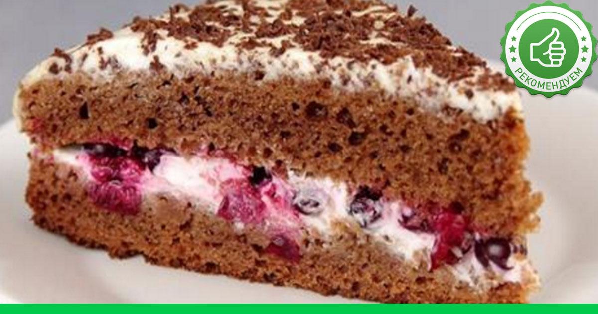 Торт самый простой рецепт