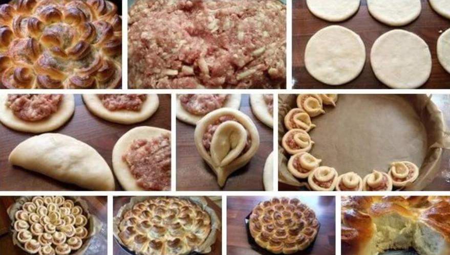 Красивые пироги рецепты