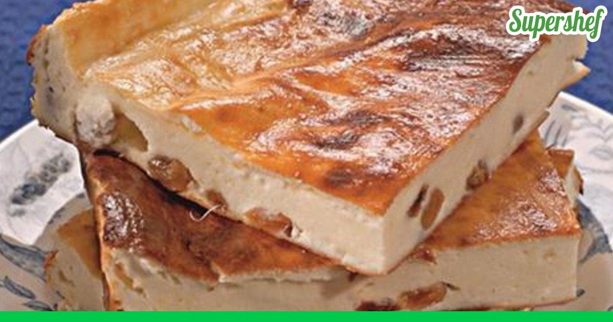 Запеканка творожная с изюмом в духовке рецепт с фото пошаговый