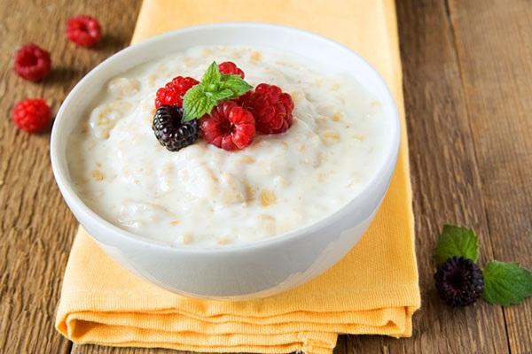 Завтрак без молока для ребенка