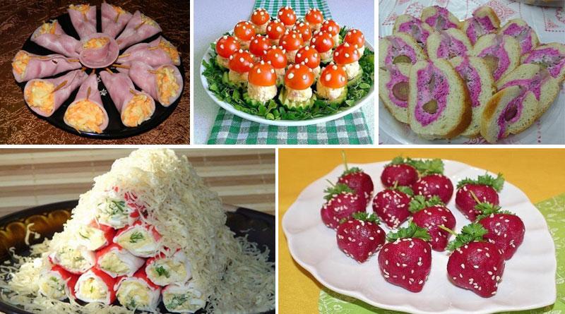 Салаты рецепты на праздничный стол с маслом